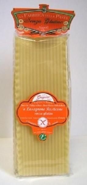 La Fabbrica della Pasta di Gragnano ll Lasagnone Rusticone- glutenfreie Lasagneblätter, 500g