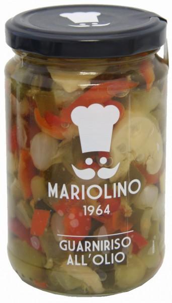 Gemüsemischung in Sonnenblumenöl - Mariolino
