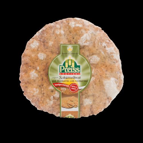 Pane croccante 100% fatto a mano con rosmarino 200g - Preiss