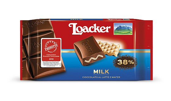 Classic Milk Schokolade 50g - Loacker