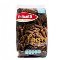 Felicetti BIO Penne Rigate Farro aus Italien - Pennenudeln aus Dinkelmehl, 500g