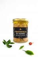 Thunfischbauch in Olivenöl, Glas, 200 g - Komoosee