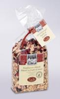 Müsli mit Waldbeeren- Müsli mit Erdbeeren, Himbeeren & Heidelbeeren, 375g - Fuchs Naturkost