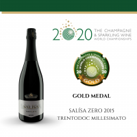 Salìsa Zero, Trento DOC, 2015 - Villa Corniole