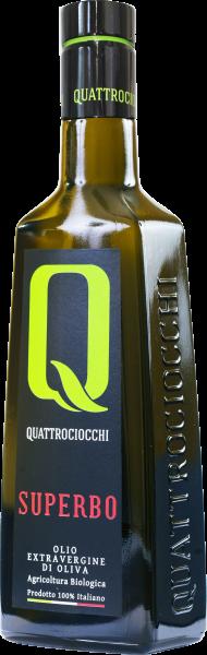 Superbo Olio extra vergine d'oliva 0.25 L - Quattrociocchi
