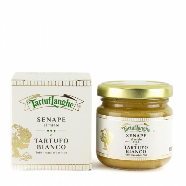 Senf mit Honig und Trüffel, Würzmittel, 100g - Tartuflanghe