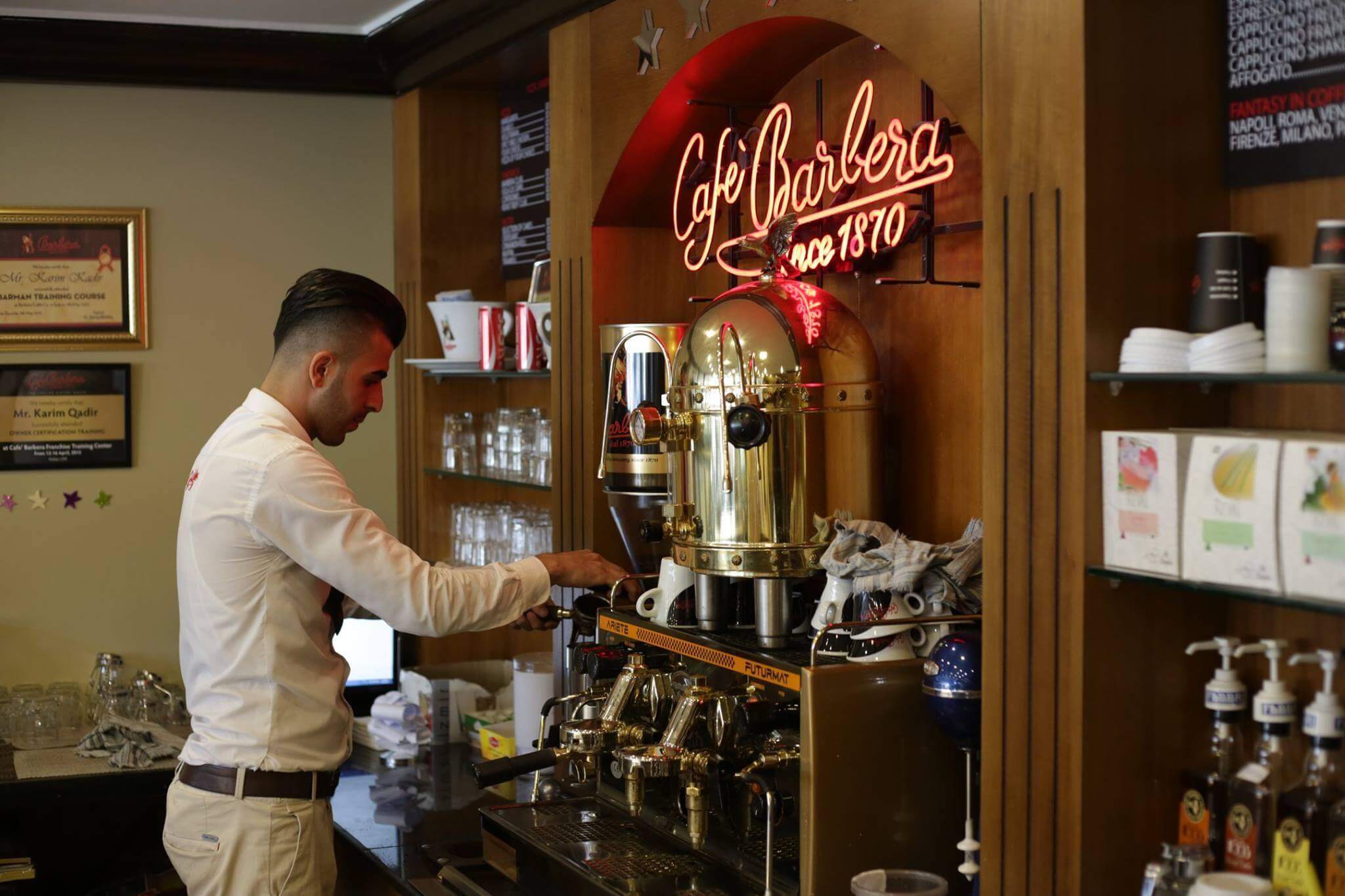 Barbera Kaffee