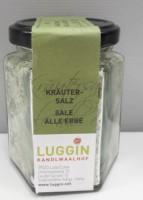 Luggin Kandlwaalhof BIO Kräutersalz - Meersalz verfeinert mit besten Vinschger BIO-Kräutern,200g