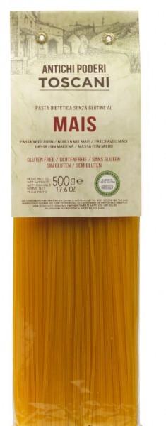 Antichi poderi Toscani Spaghetti aus Maismehl - biologisch-vegane Nudeln aus der Toskana, 500g