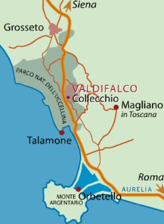 Karten-Valdifalco-Italien-Toskana