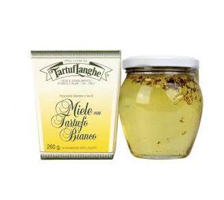 Tartuflanghe Honig mit weißem Trüffel - Akazienhonig, 40g oder 230g
