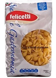 Felicetti Conchiglie Speciale Gastronomia Grano Duro - Muschelnudeln aus Hartweizengrieß, 1kg
