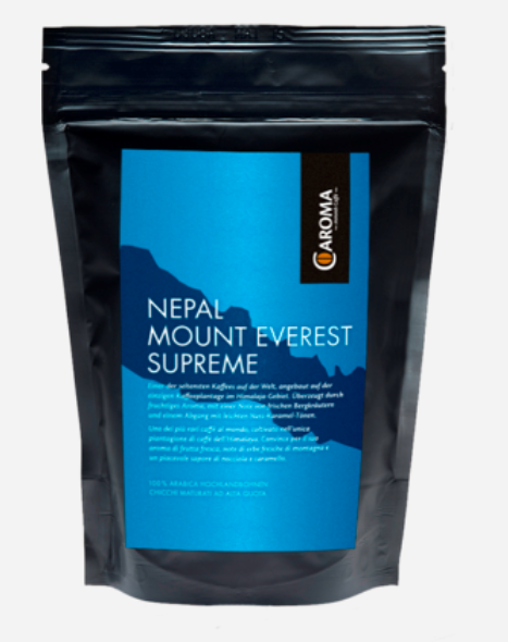 Nepal Mount Everest Supreme 250g chicchi - Caroma
