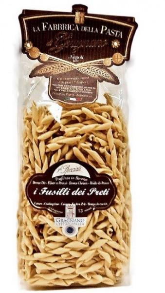 La Fabbrica della Pasta di Gragnano Fusilli dei preti - erstklassige Nudeln aus Italien, 500g