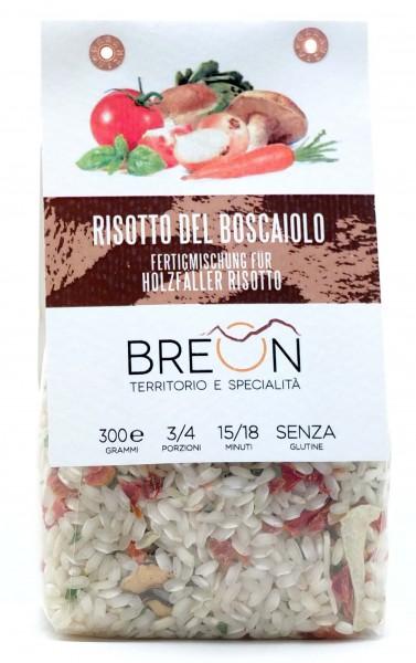 Breon Risotto Holzfällerart - fertige Mischung für Risotto nach Holzfällerart, 300g