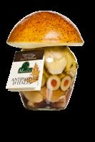 Antipasto d'Italia in olio d'oliva - Marabotto