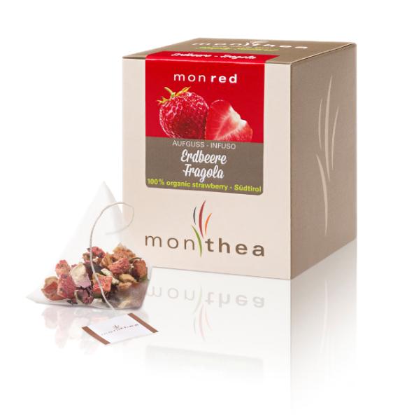 Bio Erdbeertee Monred - Monthea