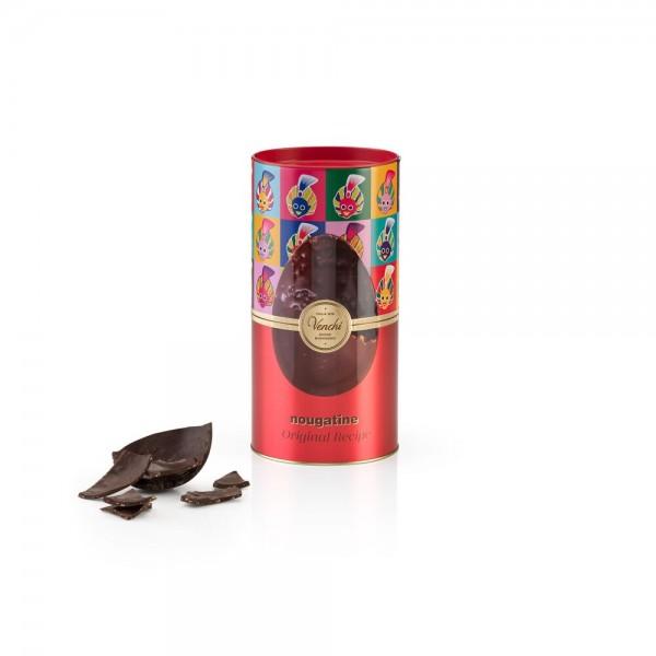 """Uovo di Pasqua """"Nougatine"""" al cioccolato fondente (con sorpresa), 250 g. - Venchi 1878"""