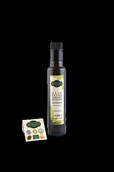 Picholine Olio extra vergine d'oliva 0.25 L - Frantoio Romano