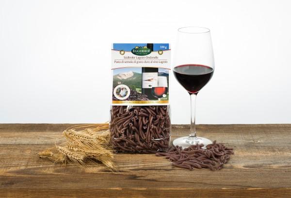Eggerhof Lagrein Ondonelle aus Südtirol - Hartweizennudeln mit Lagreingeschmack, 330g