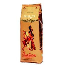 Barbera Kaffeebohnen Mago - Vakumversiegelt, 1kg,500gr o. 250gr