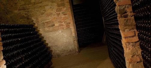 Flaschenlager-2-Kellerei-Weingut-Lantieri-Franciacorta-Schaumwein-Italien