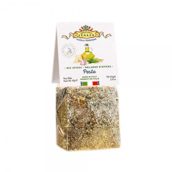 Gewürzmischung für Pesto-Nudeln, 100 g - Maestri Artigiani Italiani