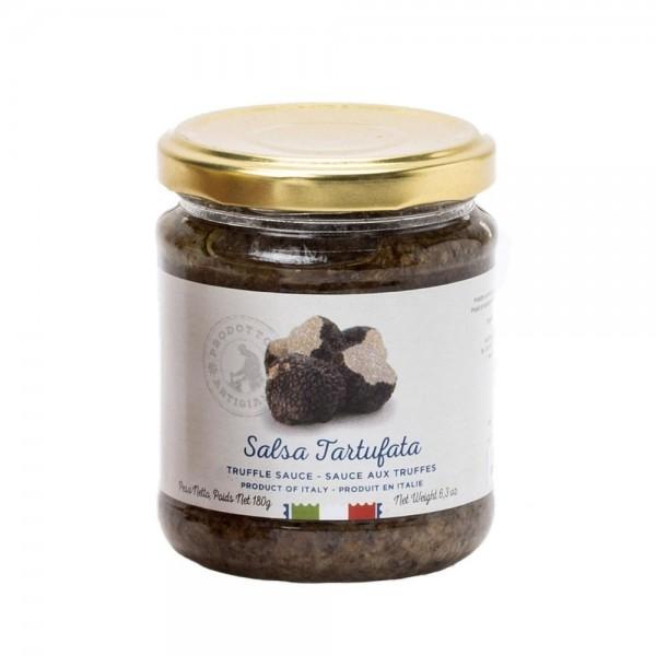 Salsa Tartufata, Sauce mit Pilzen und Trüffeln, 180 g - Maestri Artigiani Italiani