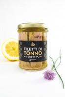 Thunfischfilets in Olivenöl, Glas, 200 g - Komoosee