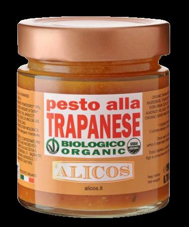 Pesto alla trapanese, BIO, 190 g - Alicos