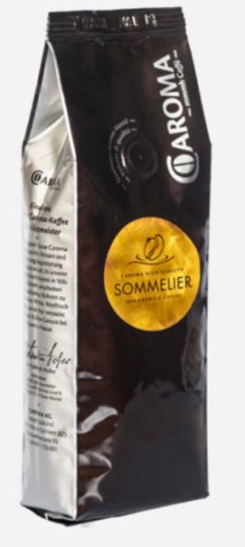 Caroma Kaffee Sommelier 100% Arabica - Rohkaffee für Feinschmecker 250g oder 1 KG Ganze Bohnen