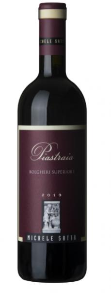 Piastraia Bolgheri Rosso DOC 2015 - Michele Satta