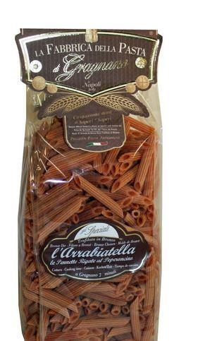 La Fabbrica della Pasta L´Arrabiatella pennette - Feurige Nudeln aus Neapel, 500g