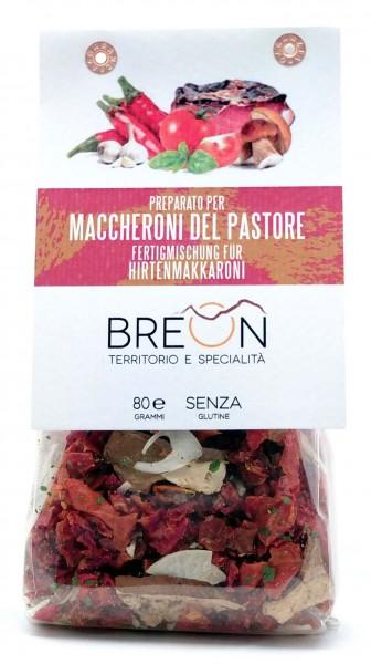 Hirtenmaccheroni - mix pronto per Hirtenmaccheroni, 80g - Breon Bozen