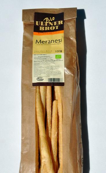 Ultner Brot BIO Meranesi - BIO Grissini, 100 g