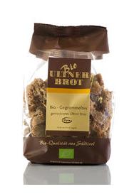Ultner Brot BIO Gegrommeltes Ultner Brot - getrocknetes Brot , 175g