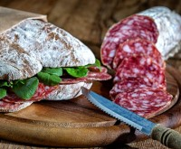 Raich Speck Bauernsalami - Salami aus Südtirol, ca.500g