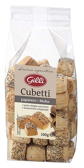 Cubetti mit Mohn, 100g - Gilli