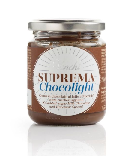 Crema suprema gianduia chocolight, 250 g - Venchi S.p.A.