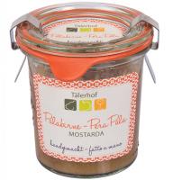 Tälerhof Mostarda Palabirnen - Fruchtmostarda von der Palabirne, handgemacht, 120ml