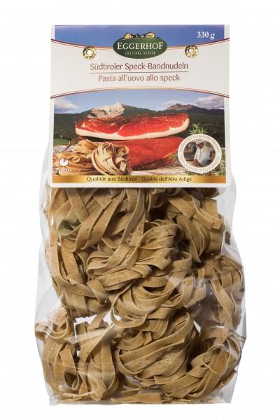 Specknudeln, Eierbandnudeln mit Schinkenspeck verfeinert, 330 g - Eggerhof