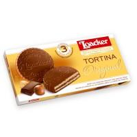 Tortina Orginal - Zarte Schokowaffel mit Milchschokolade, 3x 21g - Loacker