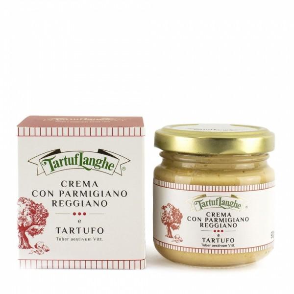 Feinste Parmesancreme DOP mit Trüffel, 90g oder 190g - Tartuflanghe