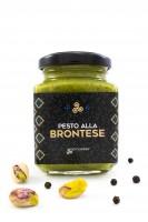 Pesto alla brontese, mit Pistazien aus Bronte, Glas, 190 g - Komoosee