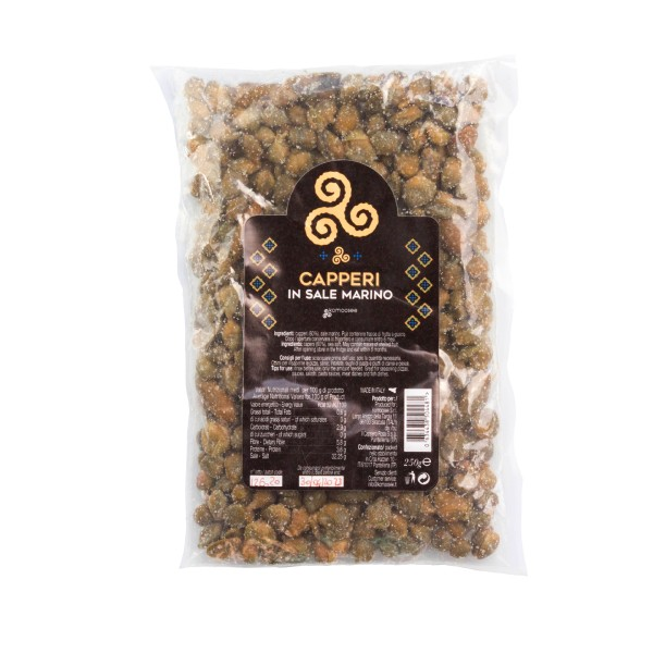 Kapern in Meersalz, Packung, 250 g - Komoosee