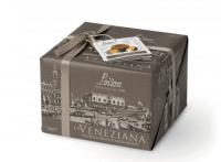 La Veneziana Focaccia Dolce Veneta, Schokolade und Gewürze, 550 g - Loison