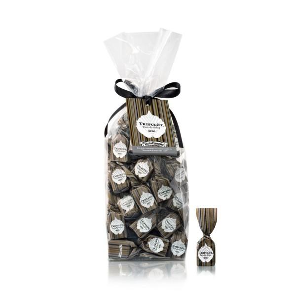Trifulot - süße schwarze Trüffel-Pralinen mit der Haselnuss Piemont IGP