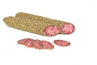 Kräutersalami aus Südtirol - Salami aus Schweinefleisch im Kräutermantel, vakumiert, ca.240g - Rinne