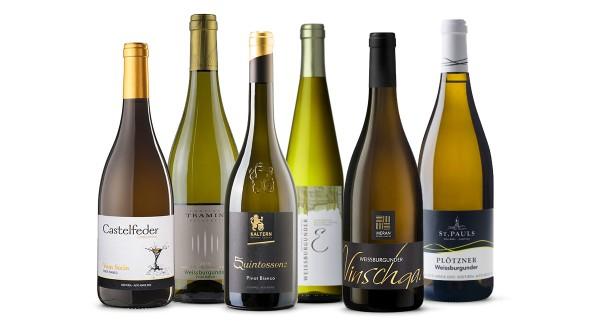 Selection Pinot Bianco - 6 Bottiglie del vino perfetto per l'aperitivo