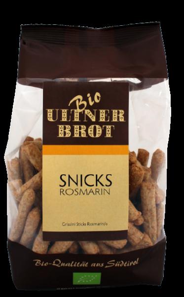 BIO Snicks Rosmarin - BIO Brotstangen, 150g - Ultner Brot